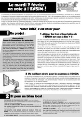 tract election ensim