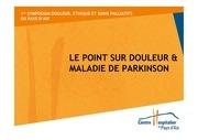 douleur et maladie de parkinson dr baudoin