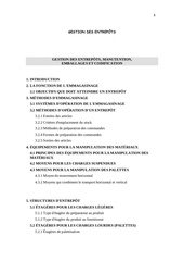 Fichier PDF gestion entrepots