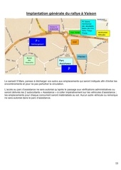 implatation rallye a vaison