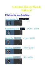 Fichier PDF citation pour rakurai halo reach 8