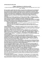 doctrine sociale de l eglise ml