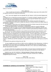 lettre d alain troja president du surfclub des roches noires