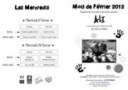plaquette des vacances de fevrier 2012 pdf