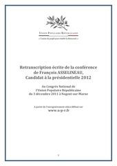 Fichier PDF fichier texte du discours asselineau programme upr 4