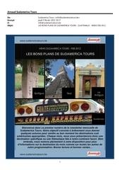 12 02 09 les bons plans de sudamerica tours guatemala