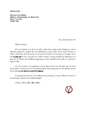 lettre anonyme asile