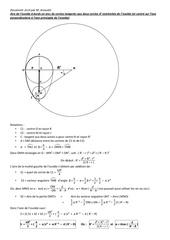 aire ovoide a bord en arc de cercle