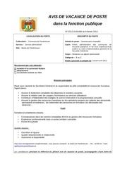 avp 690 gestionnaire comptable