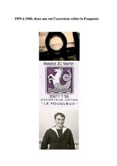 le fougueux 1959 1960 2 ans a bord jc martin pub
