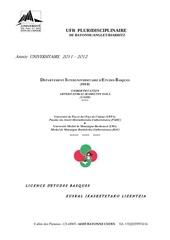 106729 guide etudes licence etudes basques 2011 2012