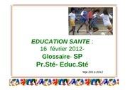 educ sante module 3 4 et 5