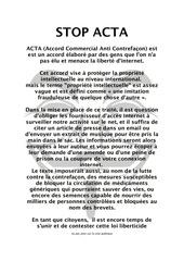 Fichier PDF acta
