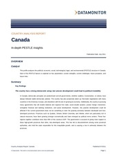 country profile canada