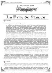 canevas le prix du silence par nemesis