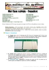 Fichier PDF tuto mini clean and simple