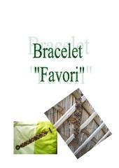 Fichier PDF bracelet favori