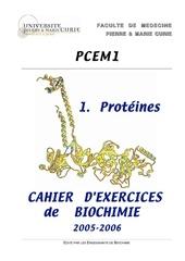 biochimie 1 proteines
