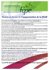 motion dgh 2012