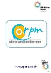 plaquette de presentation rpm 2012