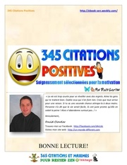 Fichier PDF 345 citations positives