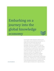 fcr embarking on a journey into the global knowledge economy