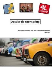 dossier de sponsoring 4l hit