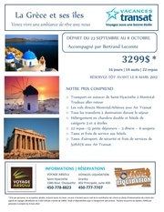 flyer groupe grece