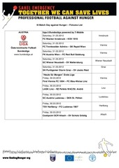 matchday list 2012