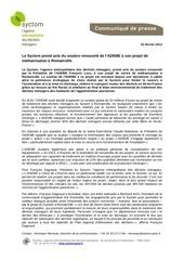 Fichier PDF jenb productions usine methanisation romainville 2012 02 23 communique de presse du syctom 1