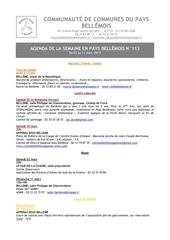 Fichier PDF agenda de la semaine en pays bellemois n 113