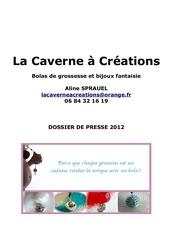 dossier de presse la caverne a creations 2012 issuu