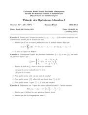 examen final master1 s1 2011 2012
