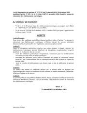 Fichier PDF normes hotels min tourisme
