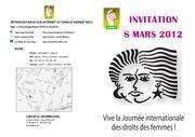 programme 8 mars 2012