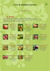 vente de plantes et graines