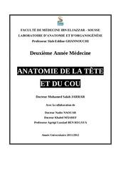 anatomie tete et cou 2012