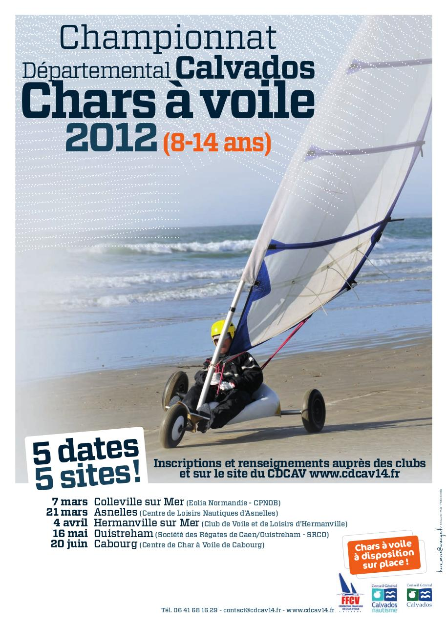 Affiches Championnat 2012 De Char A Voile Des Jeunes Bd Par Frederic Bonnin Fichier Pdf