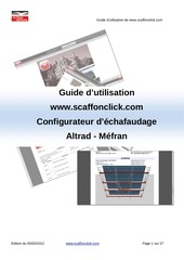 guide d utilisation scaff on click
