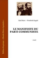 marx engels manifeste parti communiste