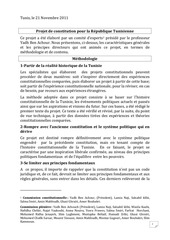 projet de constitution de la commission des experts du doyen y adh ben chour version en langue francaise