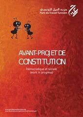 projet de constitution tunisienne du parti du travail tunisien