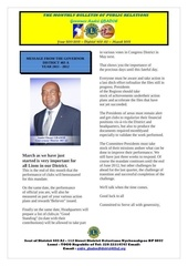 bulletin of the governor gbadoe march 2012