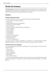 Fichier PDF les droits des femmes