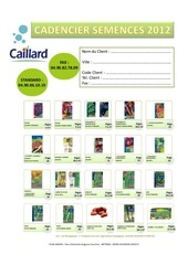 caillard syngenta index cadencier 2012