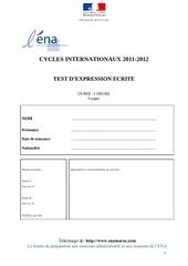 examen ena international 1 www enamaroc com