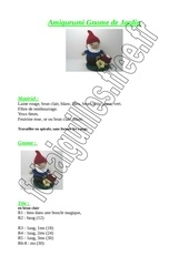 amigurumi gnome jardin