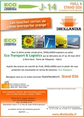 mailing salon eco transport et logistics 2012