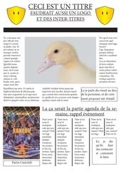 Fichier PDF maquette hebdo