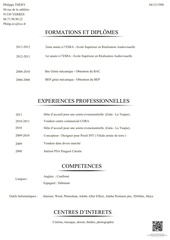 philippe thery cv
